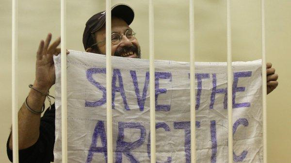 Aktivista Greenpeace v ruské vazbě