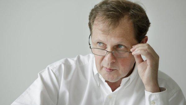 Generální ředitel České televize Petr Dvořák
