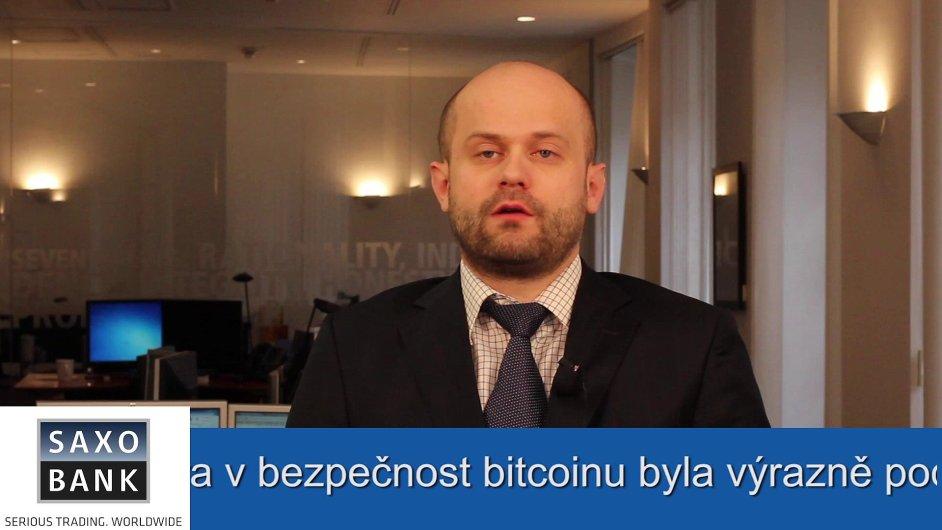 Konzultant Saxo Bank Radim Dohnal.