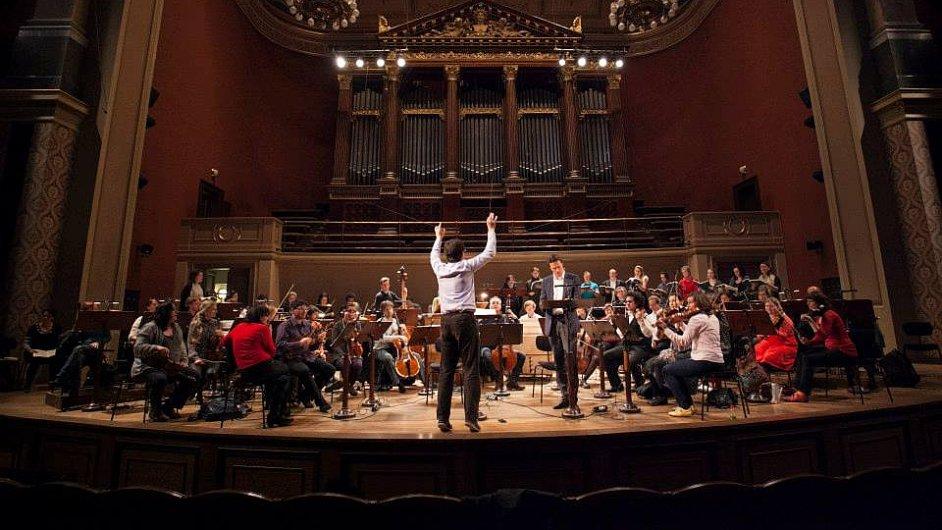 V Rudolfinu zahrálo Collegium 1704 největší skladbu oratorního repertoáru.