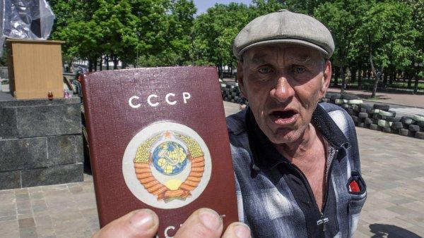 Referendum o osamostatn�n� Luhansku na Ukrajin�