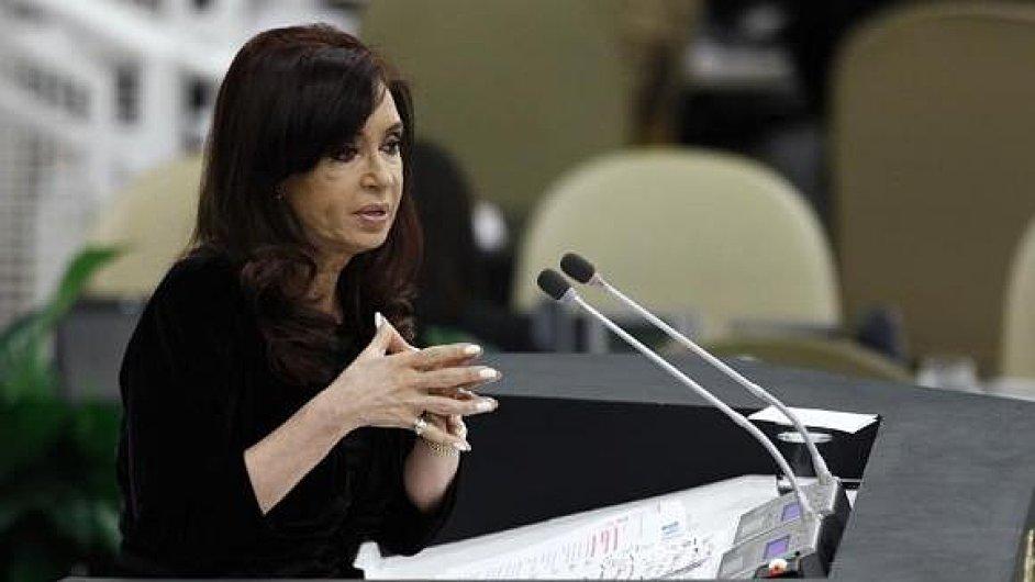 Argentinská prezidentka považuje soudní rozhodnutí za hrozbu, která zruinuje ekonomiku i obyvatelstvo země.