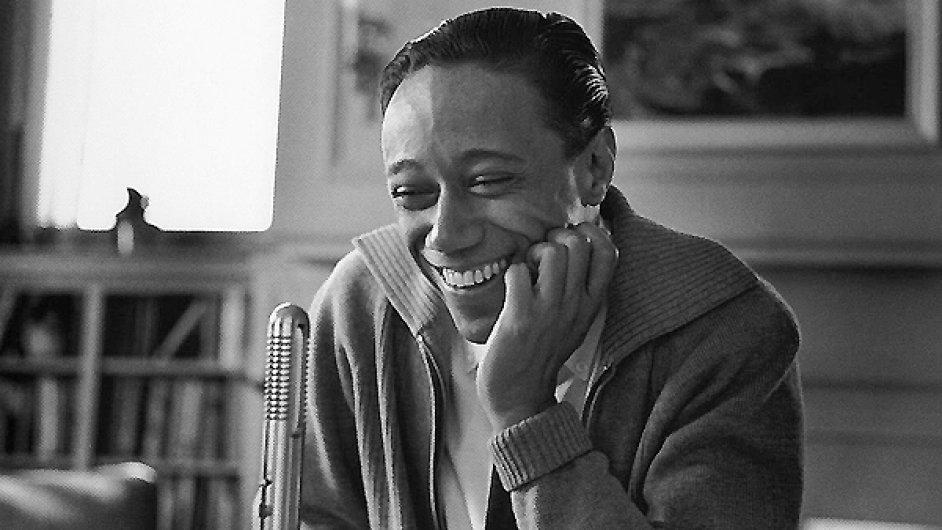 Portrét hudebníka Horace Silvera pořídil fotograf Francis Wolff.