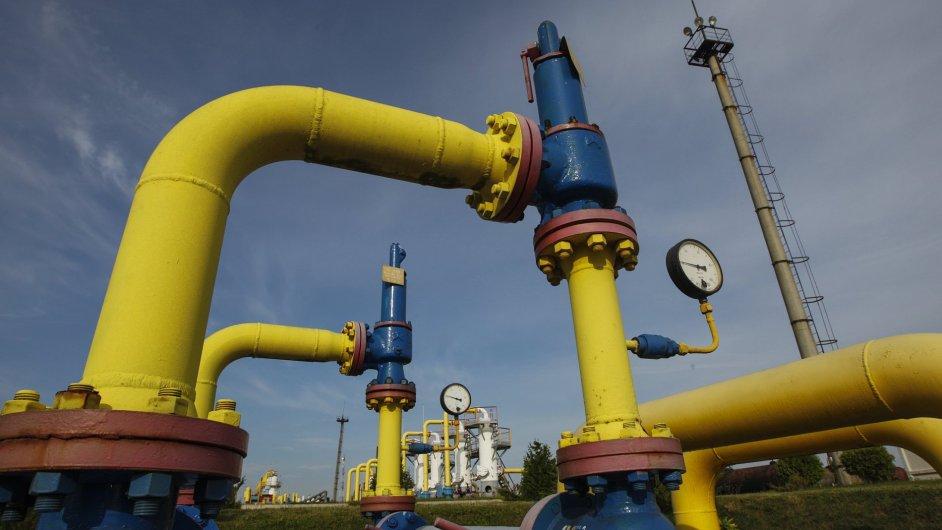 Ukrajina přistoupila na podmínky splacení dluhu za ruský plyn (ilustrační foto).
