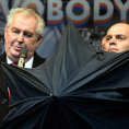 Důvěra v prezidenta Zemana se v listopadu propadla o 20 procent