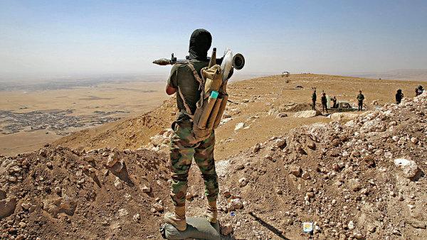 Bojovník Islámského státu - Ilustrační foto.