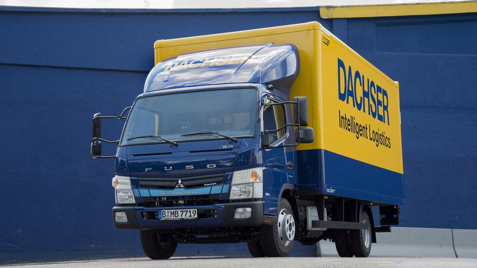 Dachser testuje v Hamburku a Mnichově hybridní dodávky