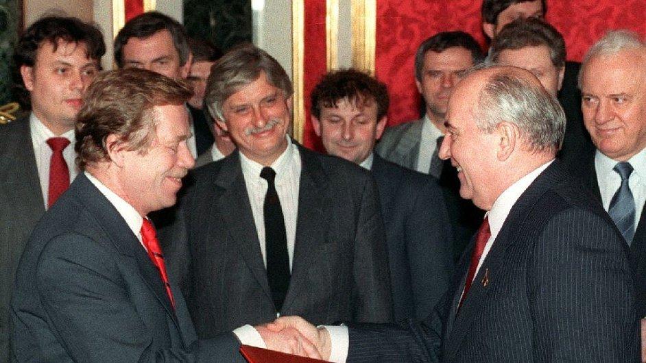 Image result for dienstbier ševardnadze