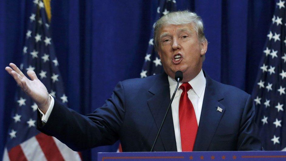 Americký miliardář Donald Trump v úterý potvrdil, že se bude ucházet o křeslo prezidenta Spojených států amerických.