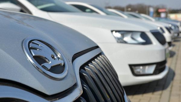 Výrobce Škoda Auto zvýšil pololetní produkci o 13,5 procenta na 459 526 osobních aut - Ilustrační foto.