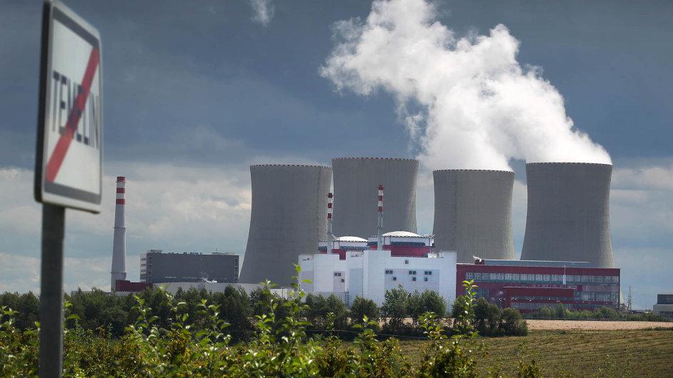 Korejské firmy by se rády podílely na stavbě nových reaktorů v Temelíně (na snímku) a Dukovanech.