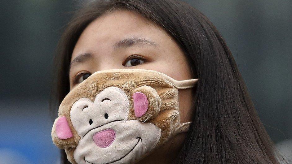 Peking trápí smog.