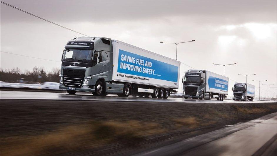 Evropský projekt je unikátní díky technologické komunikaci vozů přes wi-fi signál, díky kterému mezi sebou mohou vozy udržovat krátkou vzdálenost.