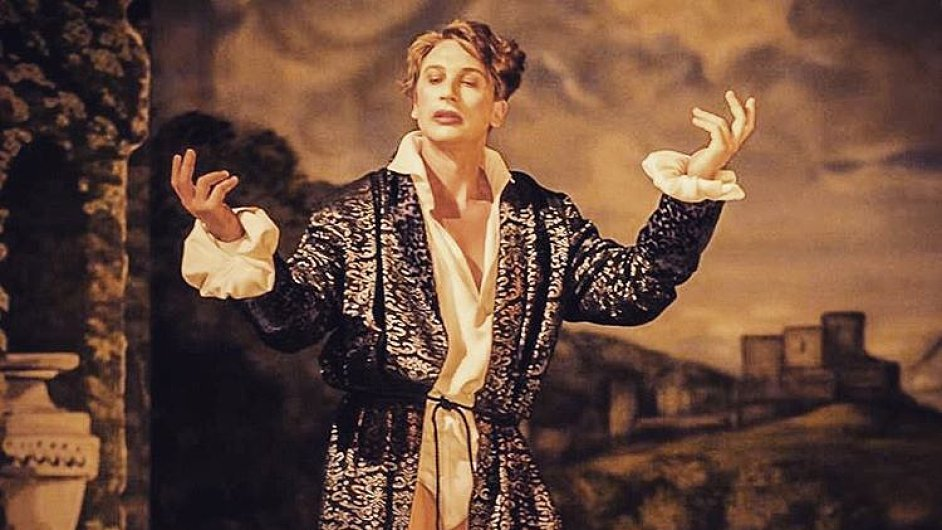 Snímek ze zkoušky Dona Juana v brněnském Národním divadle.