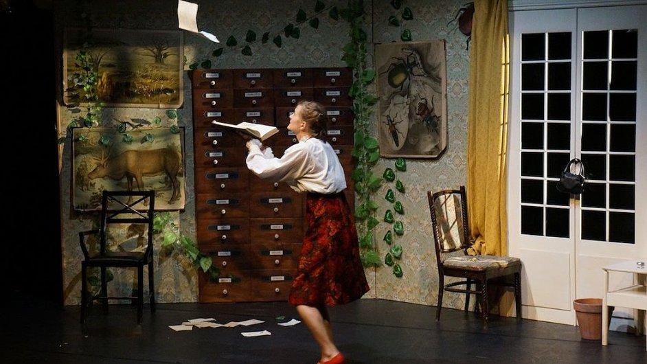Snímek z inscenace Edgar's Echo.