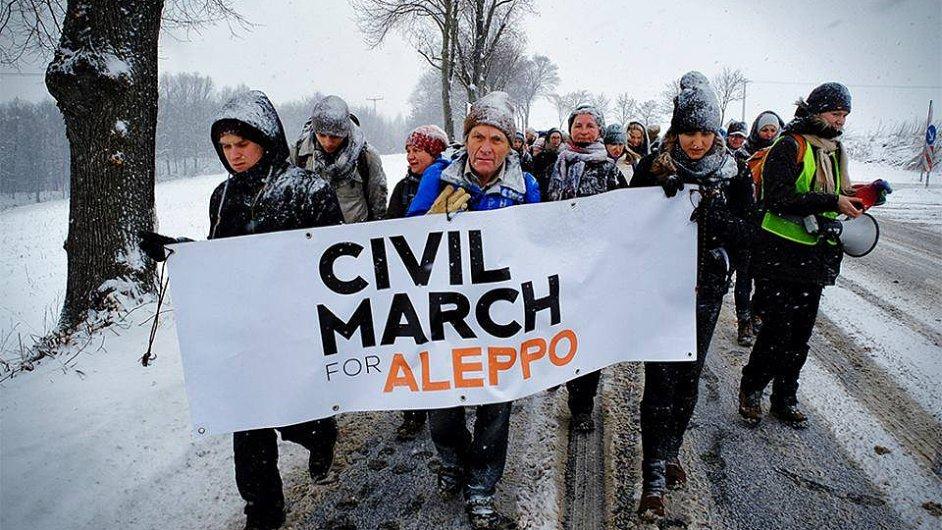 Pochod pro Aleppo