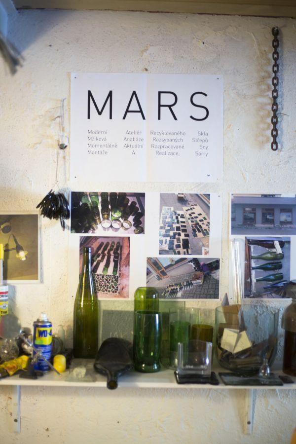 MARS - Ateliér recyklovaného skla