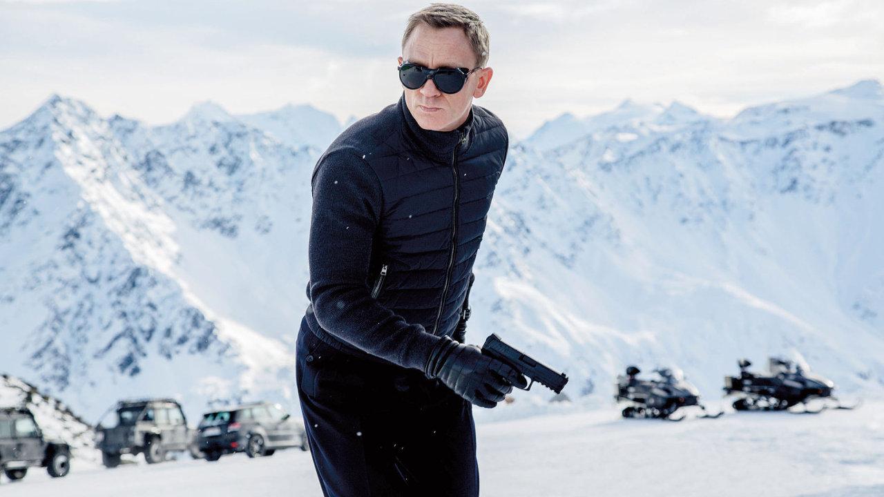 Daniel Craig se jako James Bond proháněl po zasněžených tyrolských kopcích. My doporučujeme i