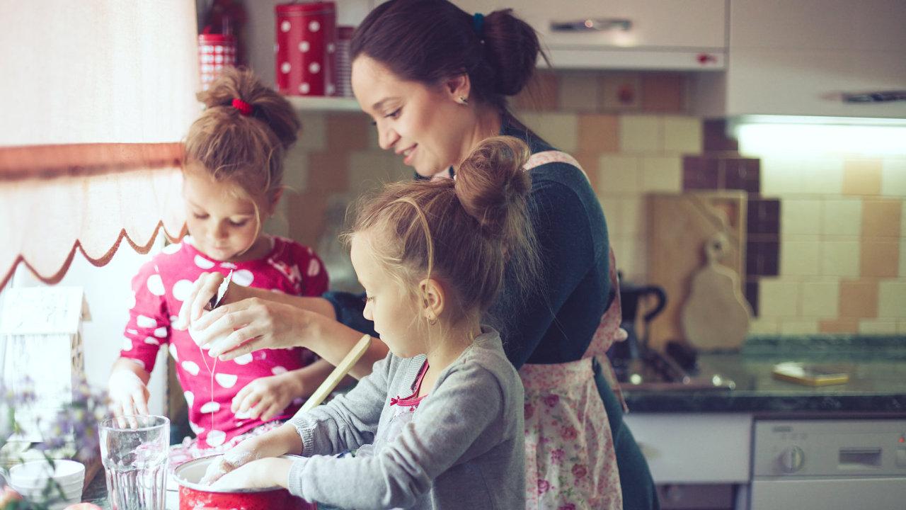žena, domácnost, kuchyň