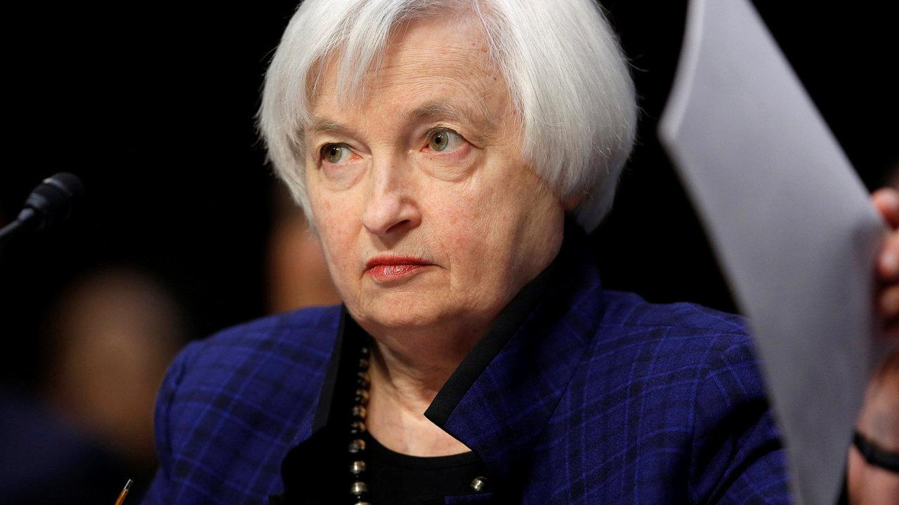 Janet Yellen, Fed.