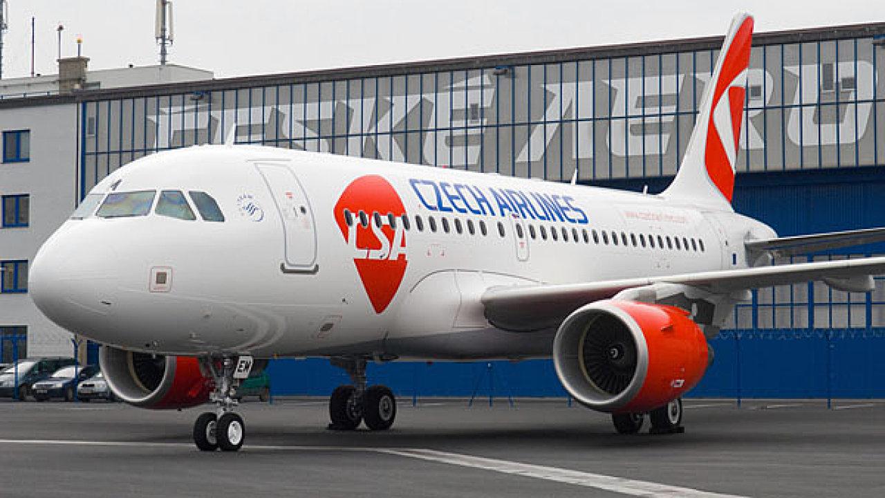V souvislosti s poklesem cestujících se zmenšila i flotila letadel ČSA.