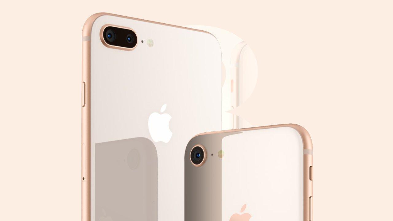 iPhone 8 ve zlatém provedení
