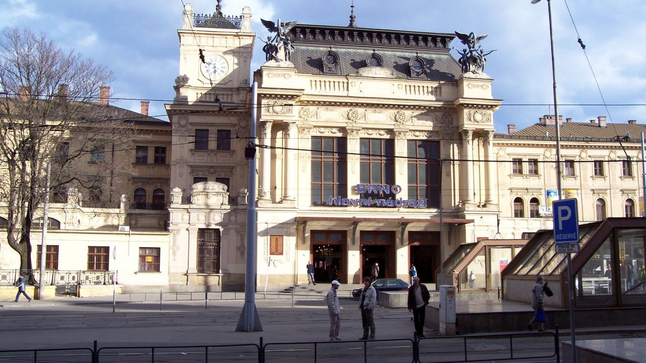 Brno – hlavní nádraží