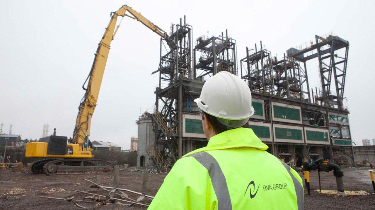 Společnost RVA Group, kterou koupil Křetínského EPH, se podílela například na likvidaci chemičky firmy Ineos.