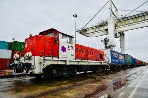 Francouzská automobilka PSA si nechala přivézt komponenty z Číny do Francie po železnici.