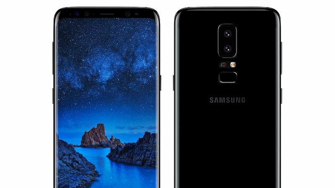 Údajný design Galaxy S9 na uniklých obrázcích