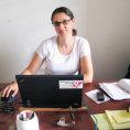 Reena Sattarová při práci v Demokratické republice Kongo