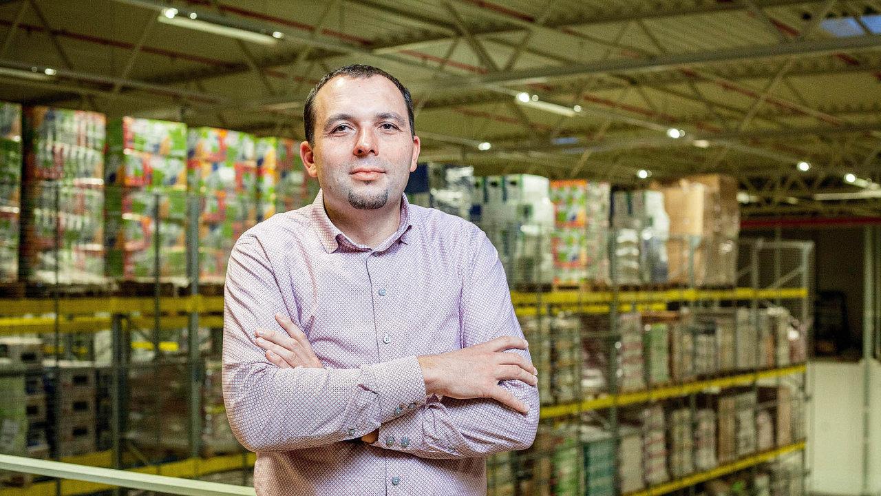 Pavel Knap, ředitel logistiky Mall Group