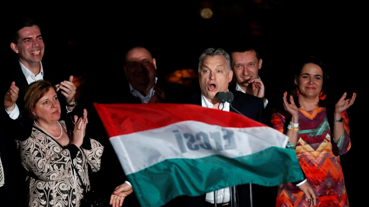 Maďarský premiér Viktor Orbán vyhrál volby