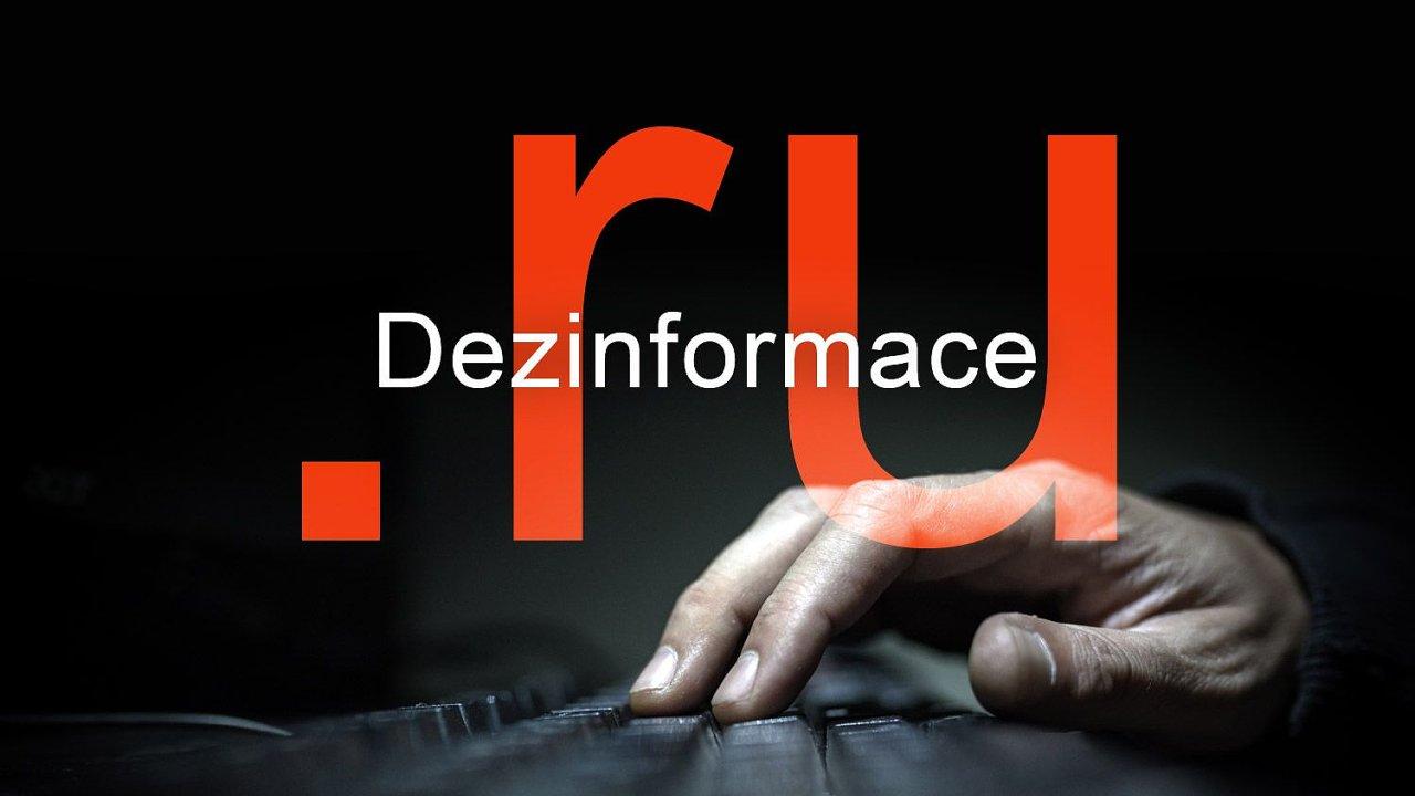 Proruské dezinformační weby mají v Česku značný vliv.