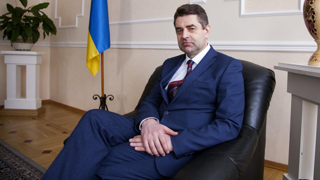 Jevhen Perebyjnis, ukrajinský velvyslanec v Česku.
