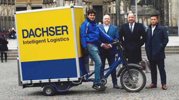 Řešením pro doručování v centrech měst s omezeným vjezdem může být nákladní elektrokolo.