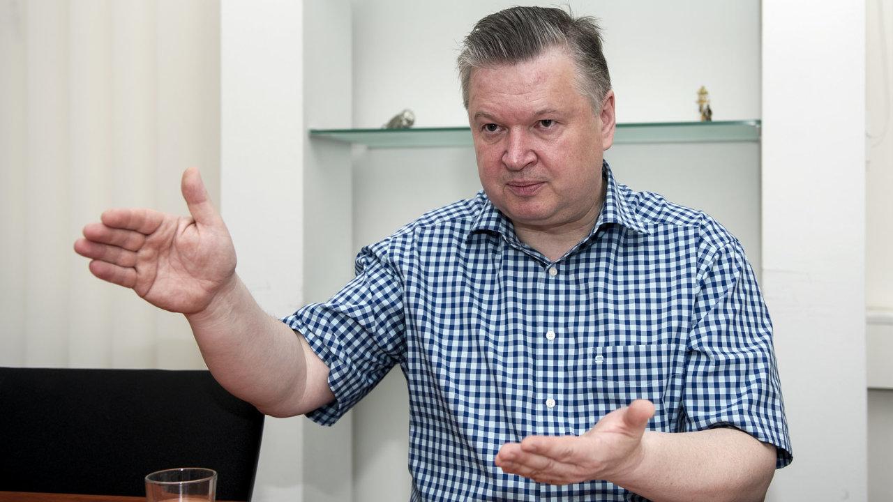 Pavel Švagr, šéf Správy státních hmotných rezerv.