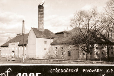 Černokostelecký pivovar pouhé dvaroky předtím,než ukončil činnost.