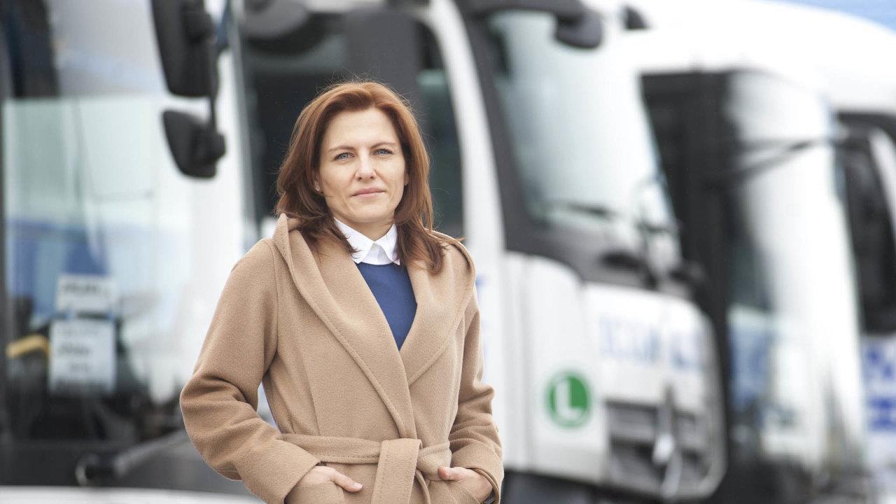 Předsedkyně představenstva Icom Transportu Kateřina Kratochvílová slaví v pondělí narozeniny.