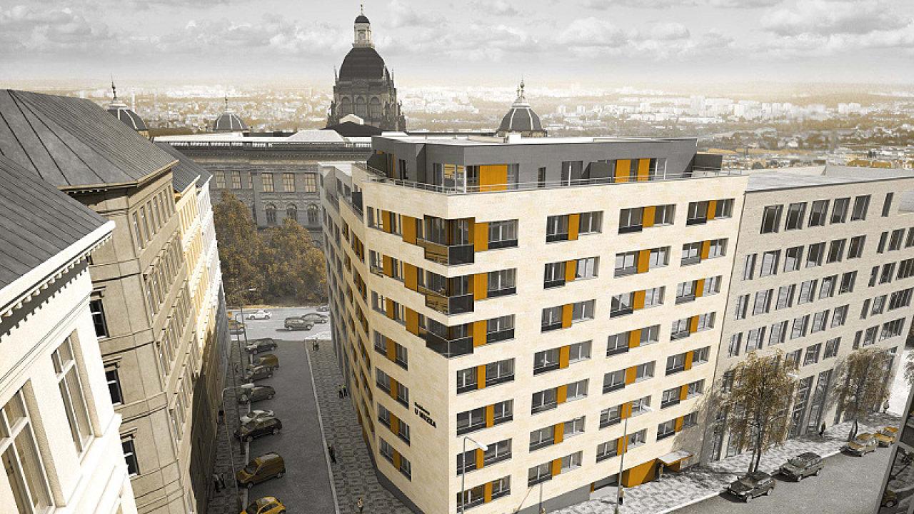 Praha 2 – Vinohrady projekt Rezidence U Muzea.