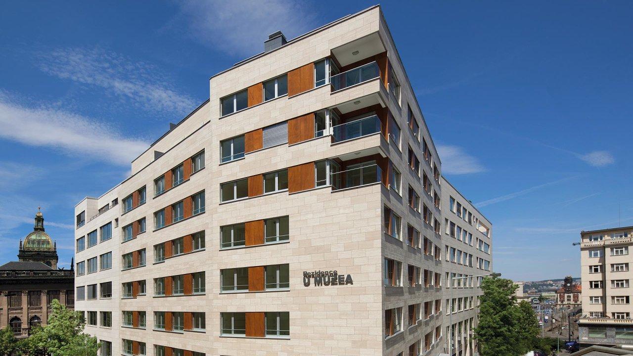 Praha 2 – Vinohrady projekt Rezidence U Muzea
