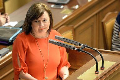 Ministryně financí Alena Schillerová (za ANO) v úterý v Bruselu řekla, že se případné odvety USA neobává.