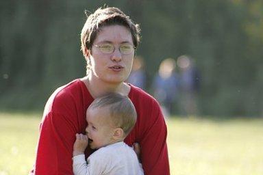 Matka s dítětem. Ilustrační foto
