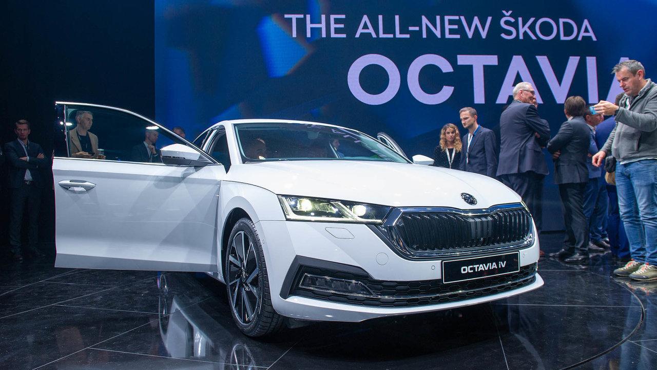 Objednávky nové generace Octavie začnou prodejci přijímat nakonci listopadu, kdy zveřejní také kompletní ceník.