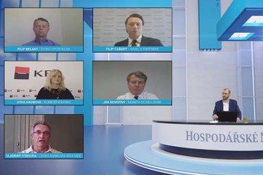 Banky opatření na pomoc firmám a domácnostem unesou, shodli se diskutují v on-line debatě HN.