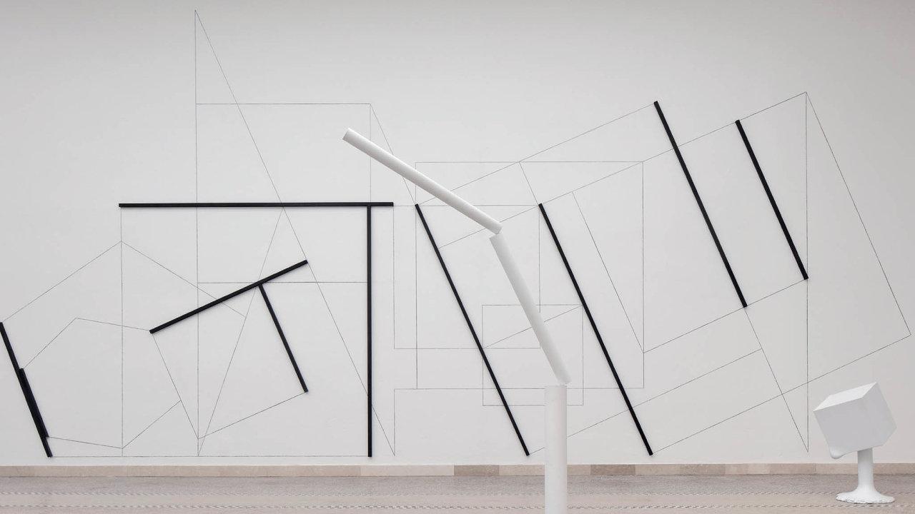 Dílo Stanislava Kolíbala nazvané Bývalé nejisté tušené je jednou z autorových prací na nyní jen virtuální výstavě Ozvěny Benátského bienále.