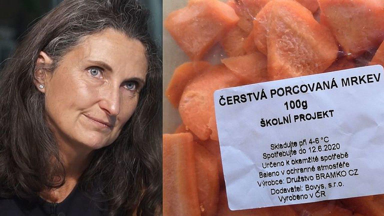 Školy rozdávají oschlou mrkev i mlíčka plná cukru: Je to velký byznys, říká Slimáková