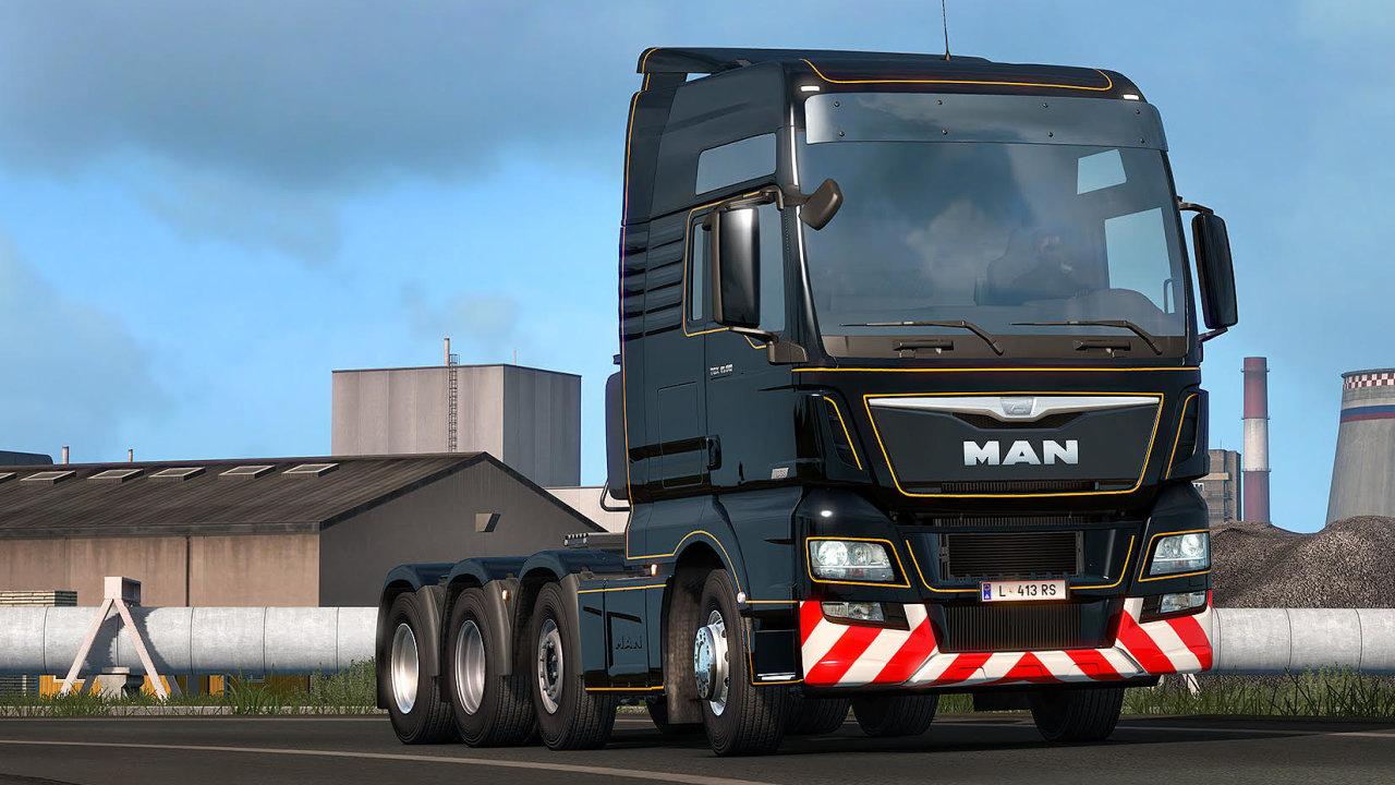 Hráče hry Euro Truck Simulator 2 od firmy SCS Software baví hlavně její realističnost. Takže oceňují i to, že si mohou ve hře klidně půlhodiny postát v koloně na dálnici.