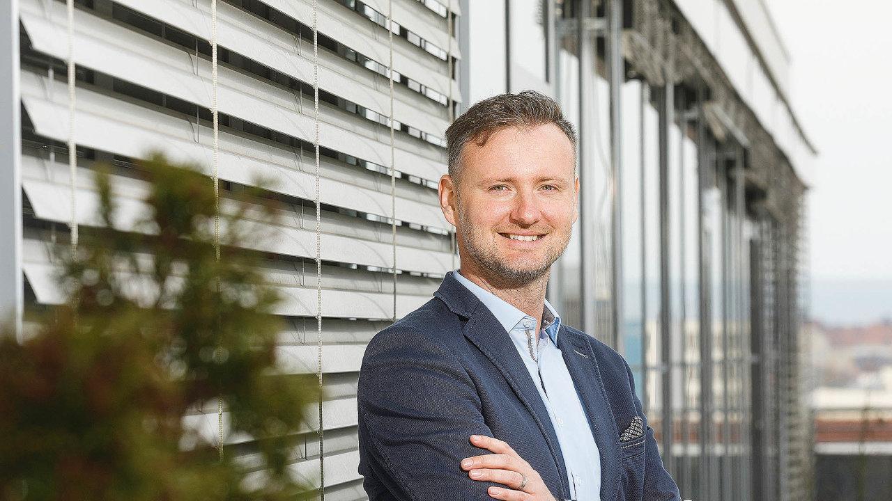 Vedoucí oddělení Mobility Services společnosti E.ON Energie Martin Klíma