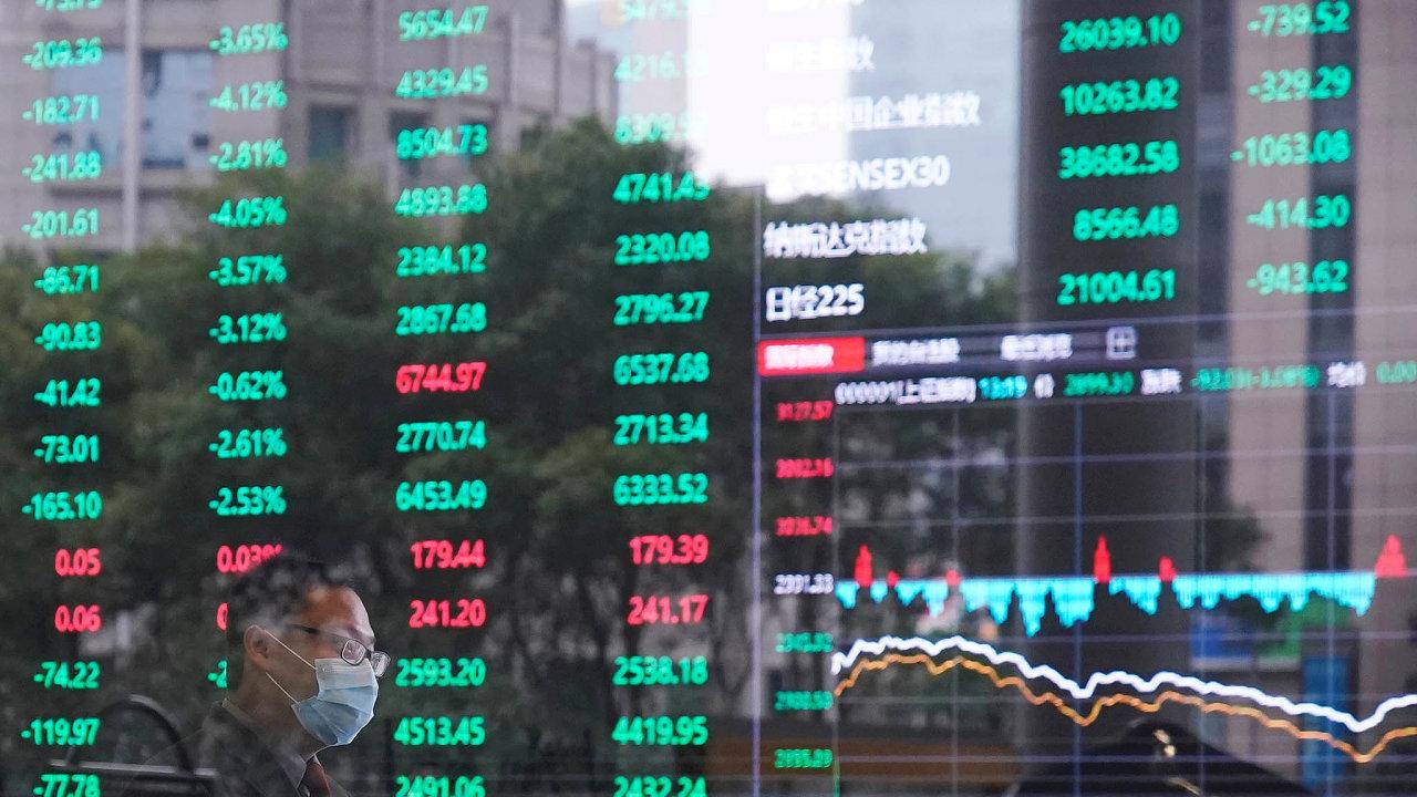 Ceny akcií pohání nahoru zájem domácích izahraničních fondů ataké čínských drobných investorů.